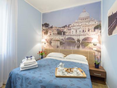 B&B AD MAIORA - Musei Vaticani San Pietro Metro A CIPRO  Wifi CAMERA TEVERE NON fumatori bagno privato a partire da 60€